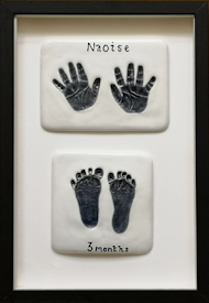 Baby's Hands and Feet - Age 1